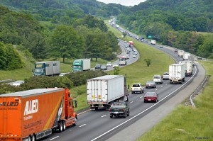 I-81 in southwest Virginia