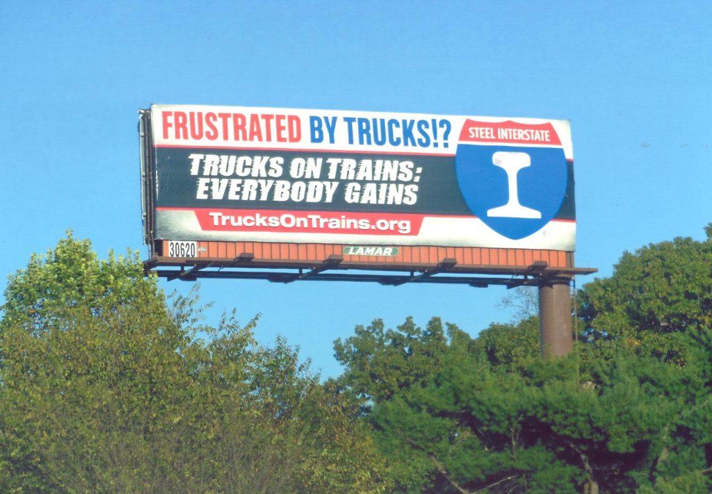Trucks on Trains Billboard
